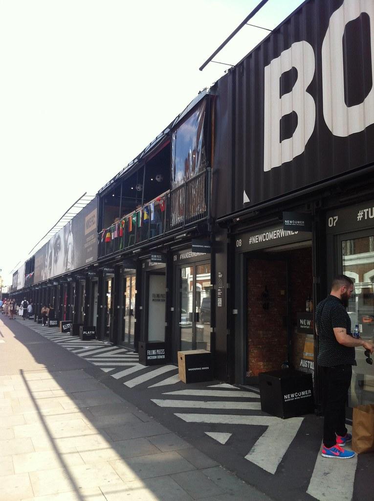 Shoreditch Station: Pop Up Shops At Shoreditch High Street Overground Station