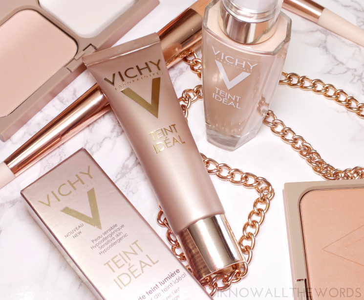 VICHY TEINT IDEAL illuminating foundation cream