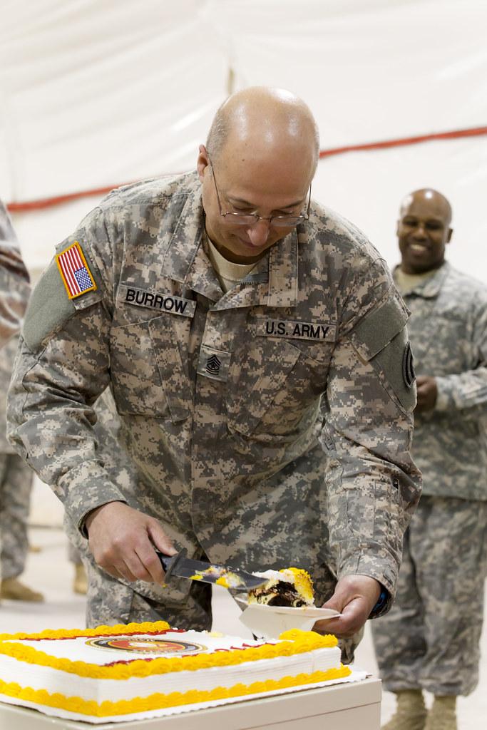 National Guard Birthday Cake