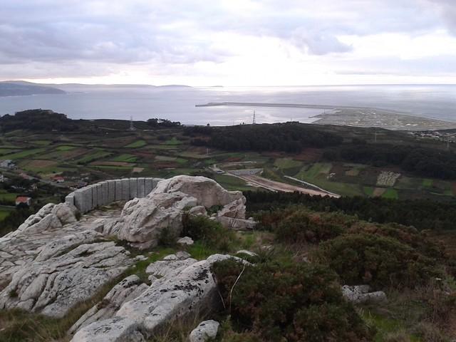 Mirador Punta Langosteira en el Parque Forestal de Monticaño