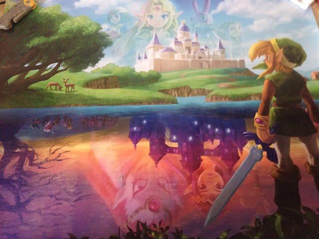 Legend of Zelda  A Link Between Worlds Club Nintendo 2013 Poster SetA Link Between Worlds Poster
