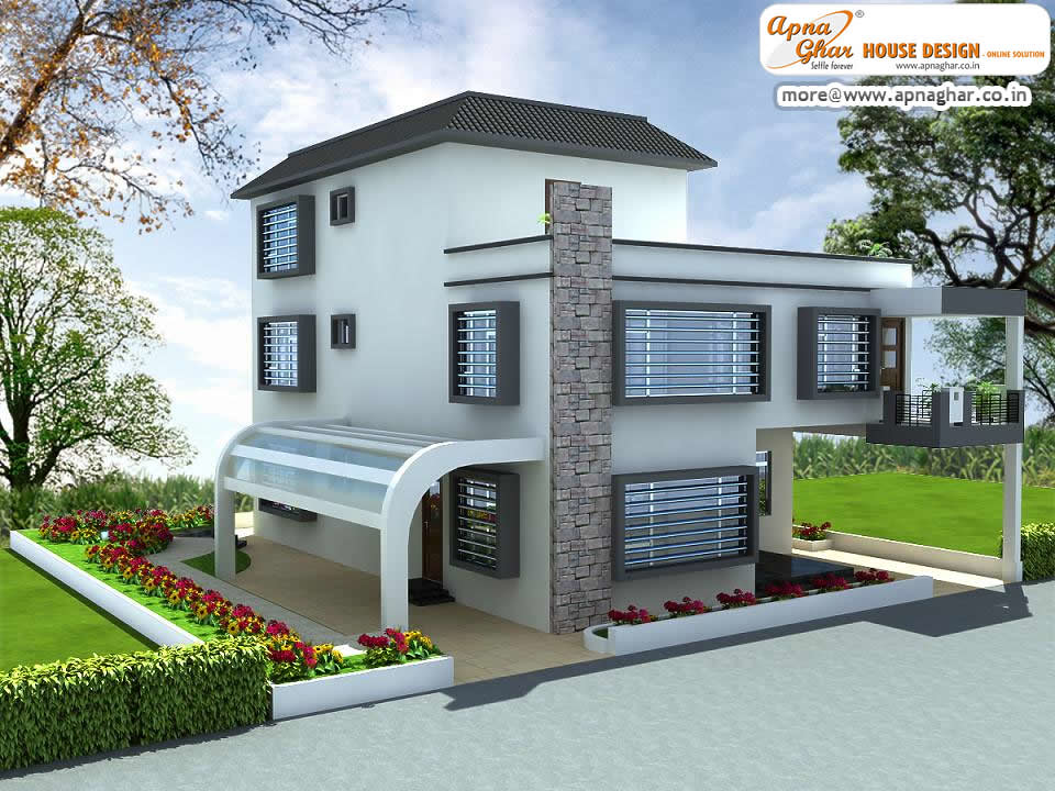 4 bedrooms duplex house design 4 bedrooms duplex house House plans india with two bedrooms