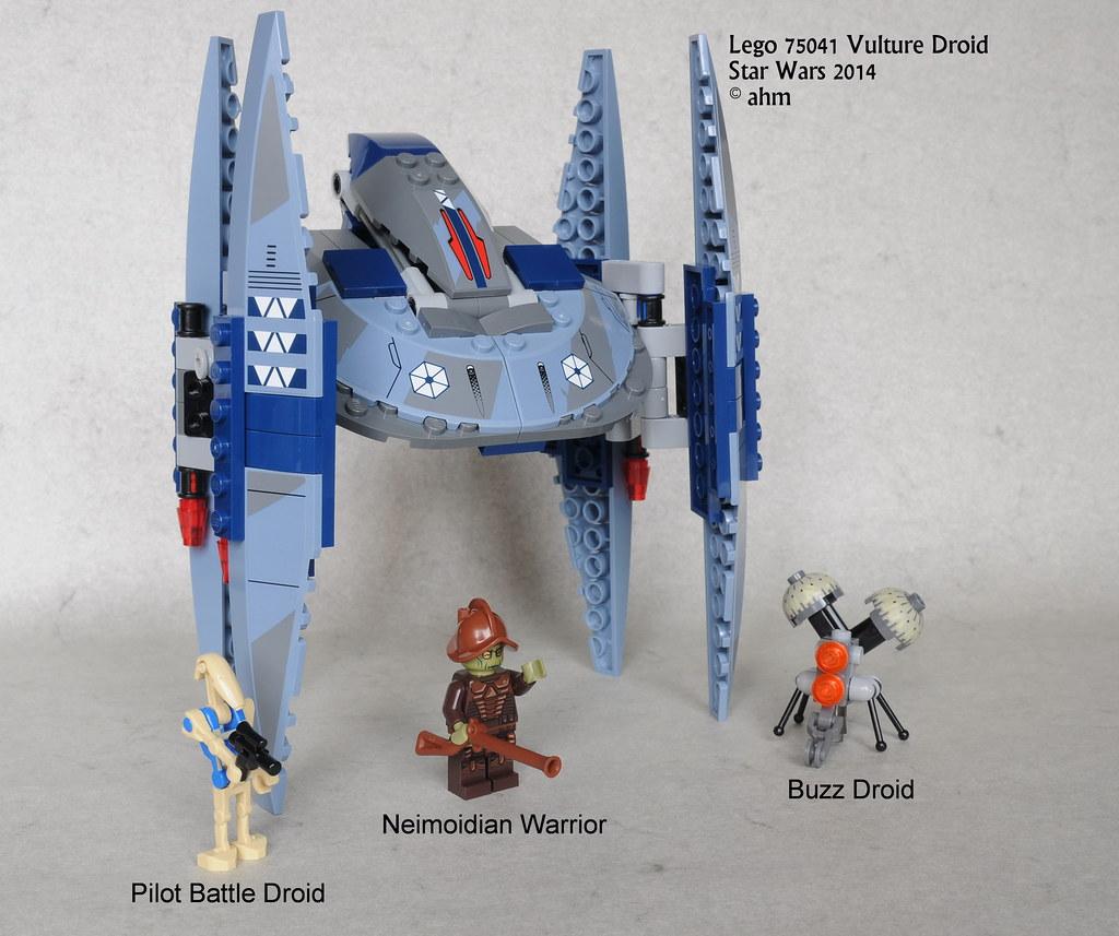 Star wars lego 75041 vulture droid star wars lego 75041 - Bd lego star wars ...