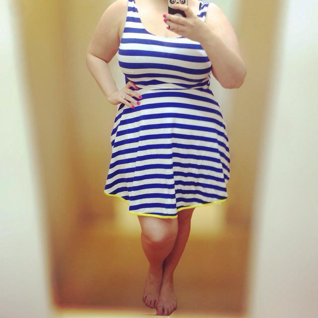 Plus size outfit - Kmart dress