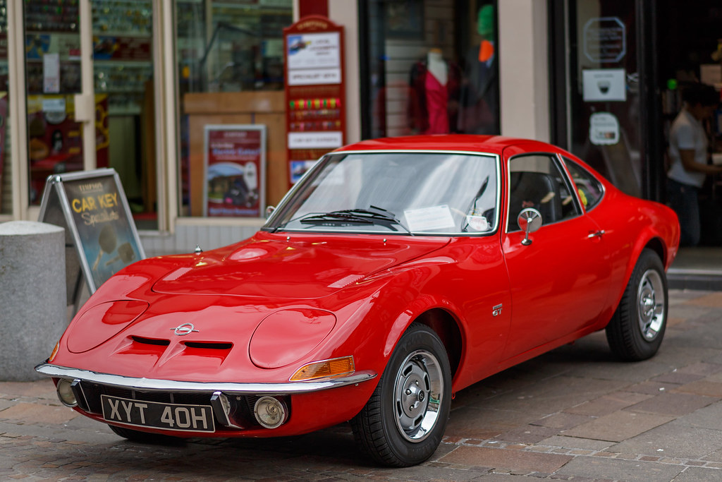 How To Get A Free Car >> Opel GT 1900 | Smart red Opel GT 1900 - XYT 40H - seen at ...