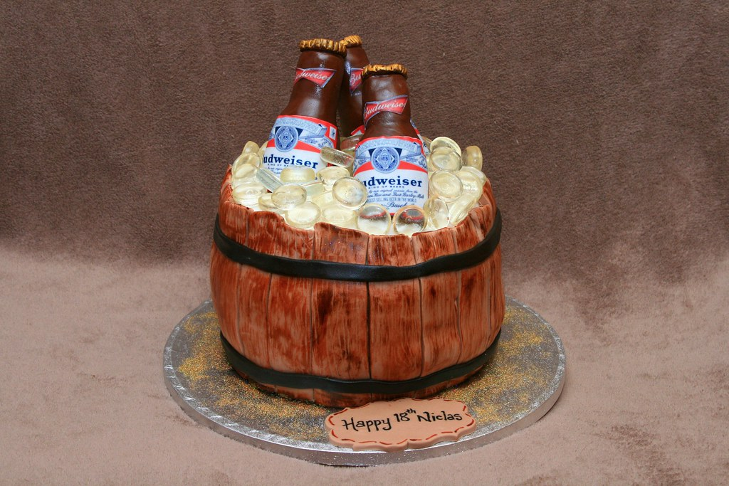Birthay Beer Cake Images