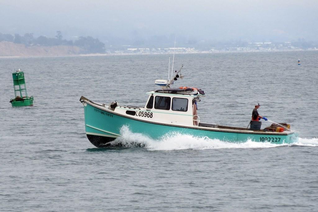 Fishing boat santa barbara california alan kotok flickr for Santa barbara fishing report
