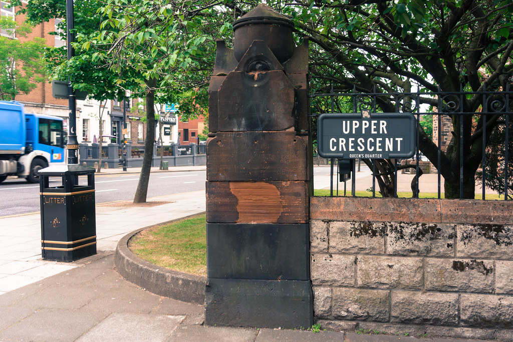 THE UPPER CRESCENT IN BELFAST - 2014 VISIT 001