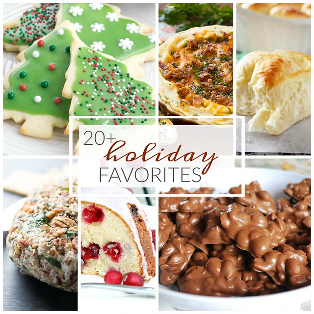 20+ Holiday Favorites! Every recipe you need for a delicious holiday!