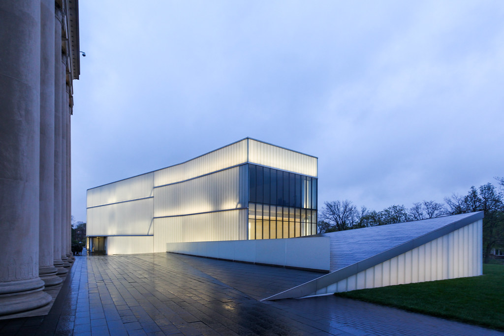 Nelson atkins museum of art kansas city steven holl ar for New space architects