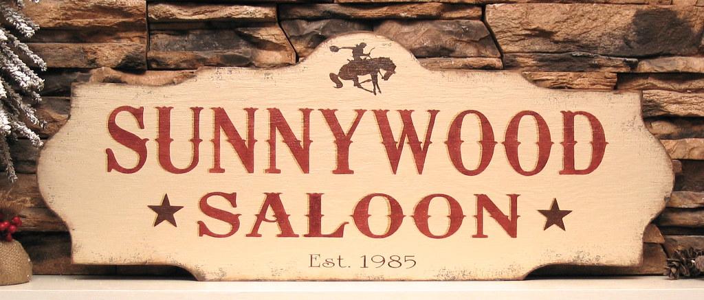 Western Saloon Sign www pixshark com - Images Galleries