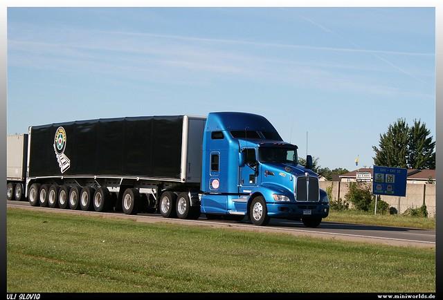 """Kenworth T600 """"American Motor Lines"""""""