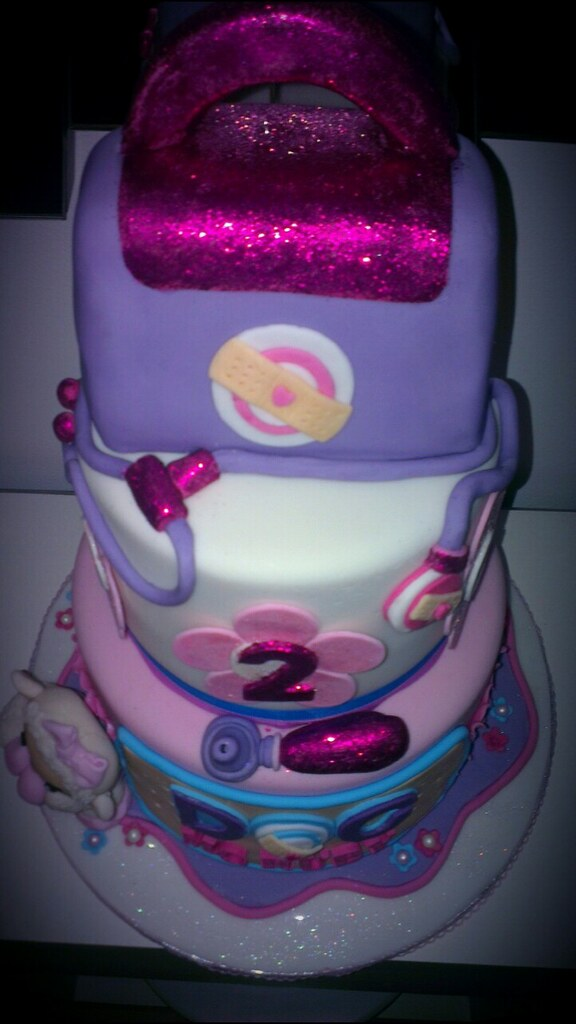 doc mcstuffin birthday cake