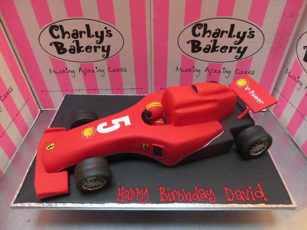 Race Car Shaped Cake Pan