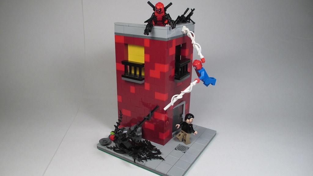 Venom Coloring Pages Lego Venom Spider Marvel Heroes: Lego Spiderman Vs Carnage And Venom