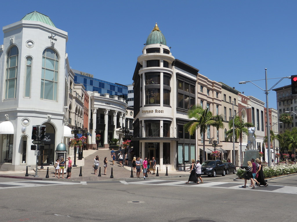 Rodeo Drive Beverly Hills California Rodeo Drive Is A