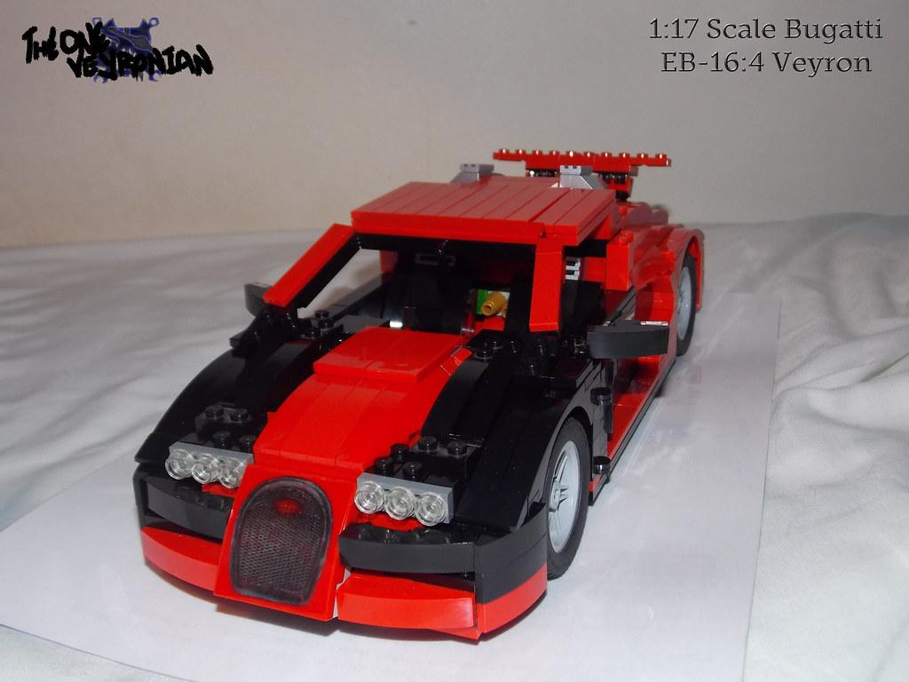 lego moc bugatti veyron 14 studs wide 1 i completely. Black Bedroom Furniture Sets. Home Design Ideas