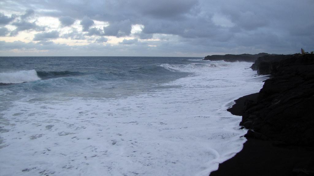Kalapana Beach Big Island Hawaii