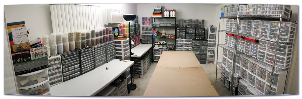 Lego Room 2013 After Months Of Sorting Resorting And
