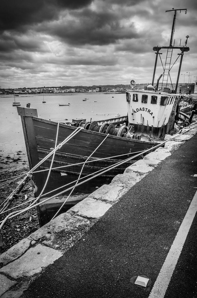 Old boat in Skerries, Ireland