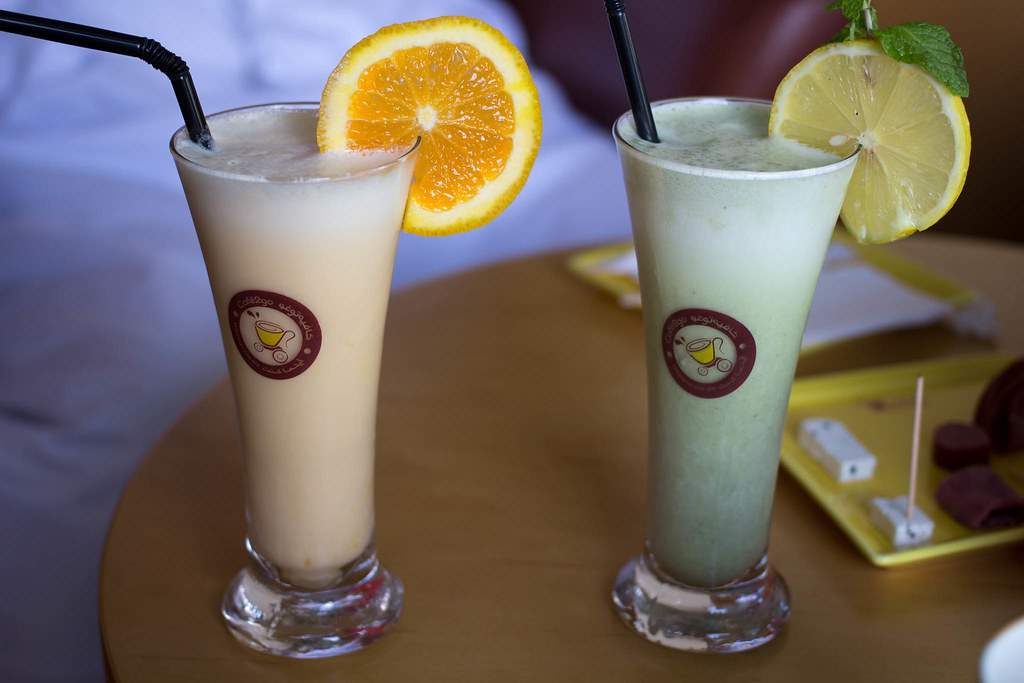 cafe 2 go camel milk smoothies