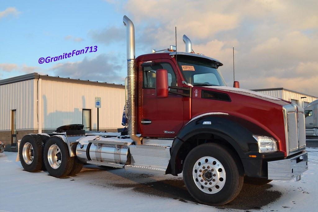 2014 Kenworth T880 | Trucks, Buses, & Trains by granitefan713 | Flickr