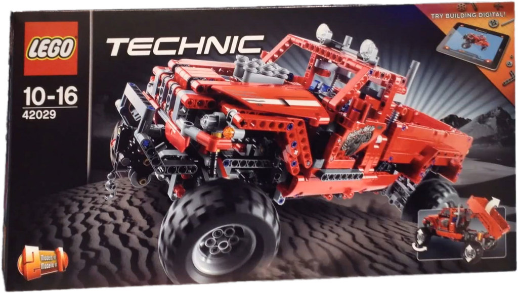 lego technic 42029 customized pickup truck more. Black Bedroom Furniture Sets. Home Design Ideas