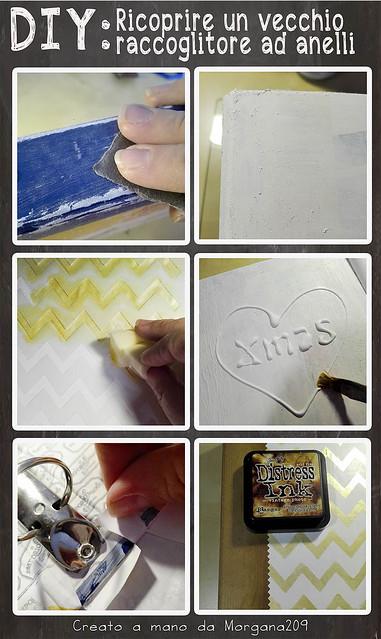 DIY - Ricoprire raccoglitore ad anelli