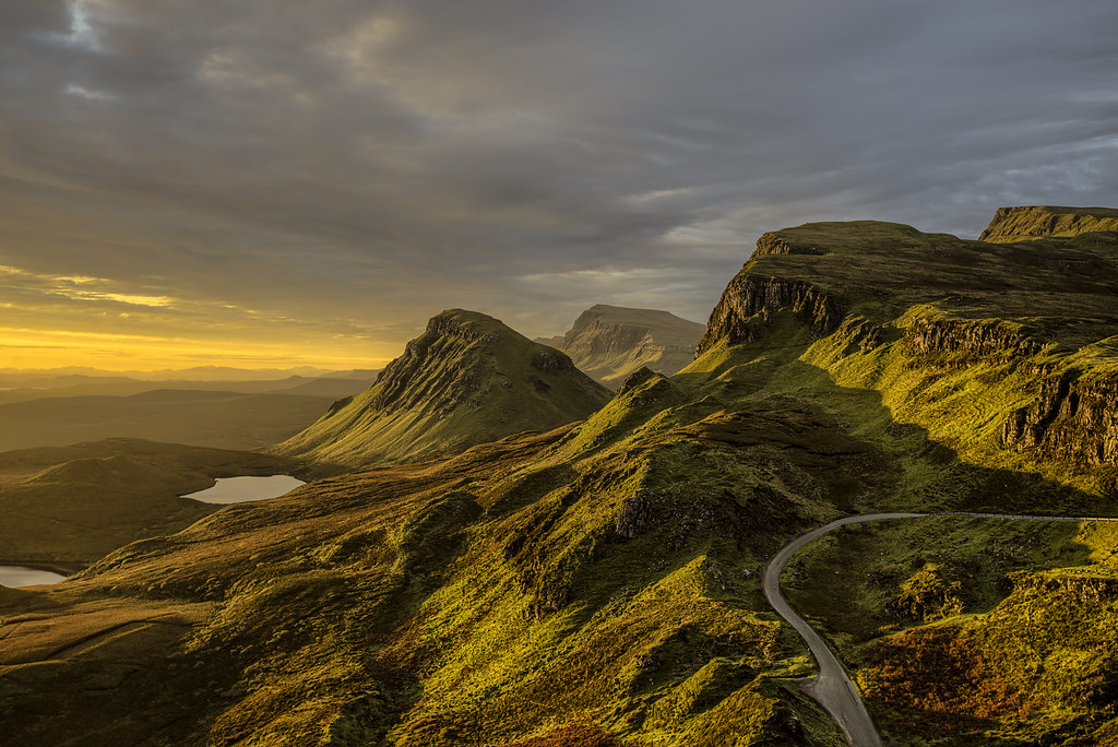 Sunrise Quiraing Isle Of Skye Scotland 10 2016 The