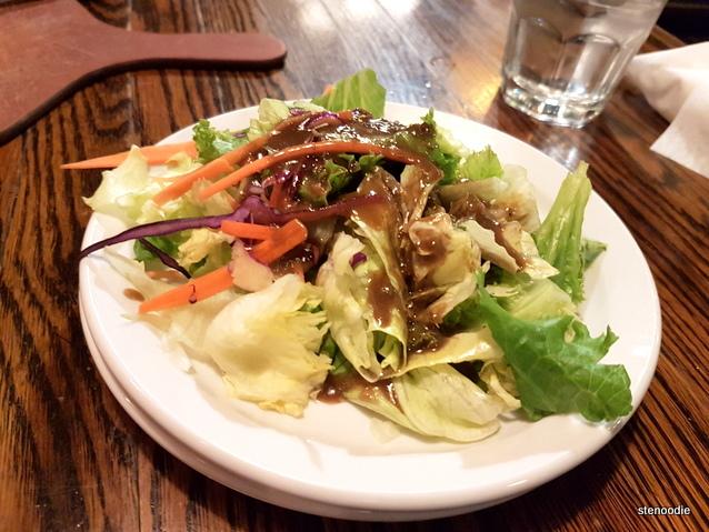 Crisp Green Salad in Balsamic Vinaigrette