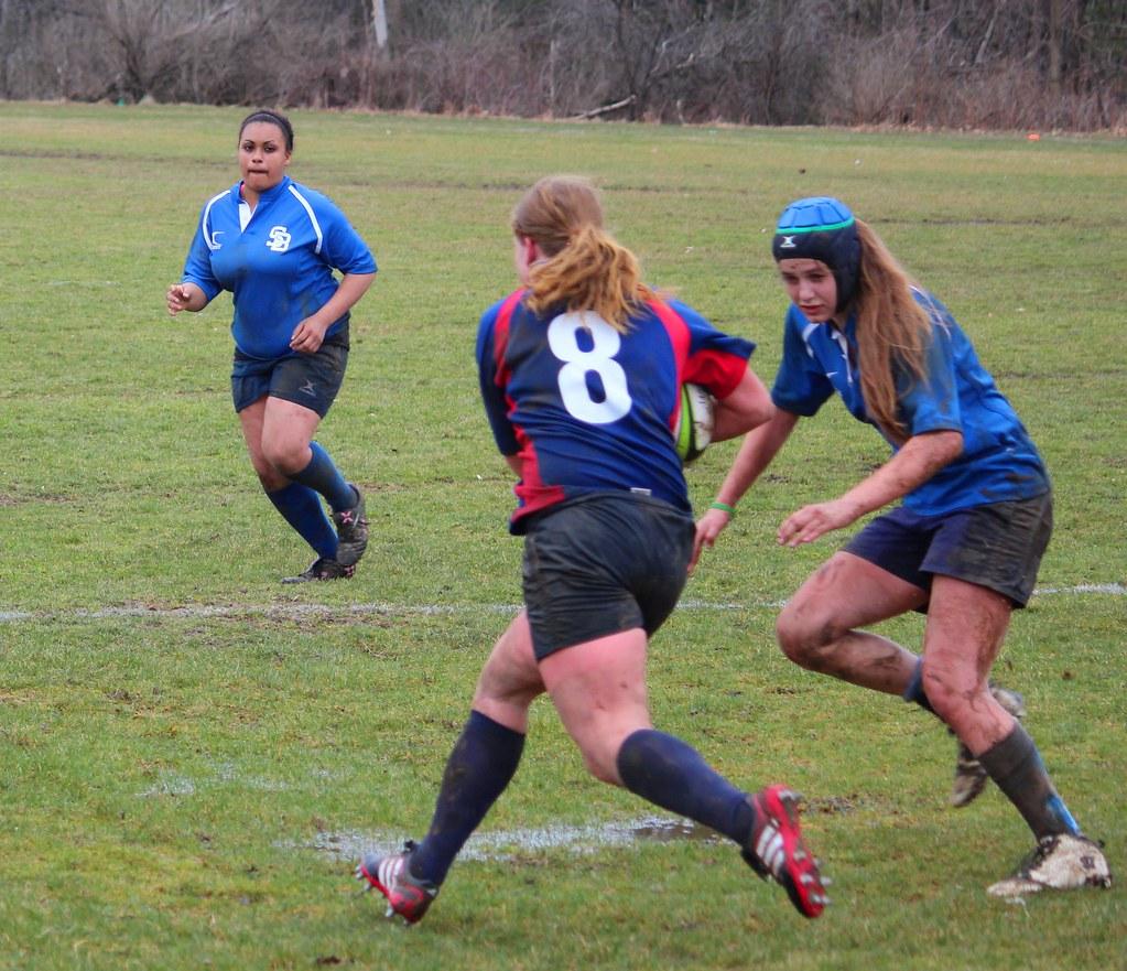 South Burlington: South Burlington High School Girls Rugby V ADK April 2013