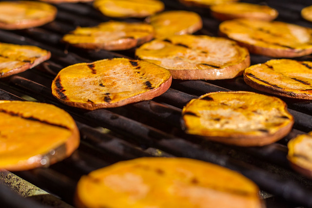 Grilled Sweet Potato | Explore Another Pint Please...'s phot ...