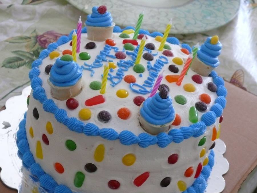 Ice Cream Cake by Vanessa, Ellsworth, ME, www.birthdaycake…  Flickr