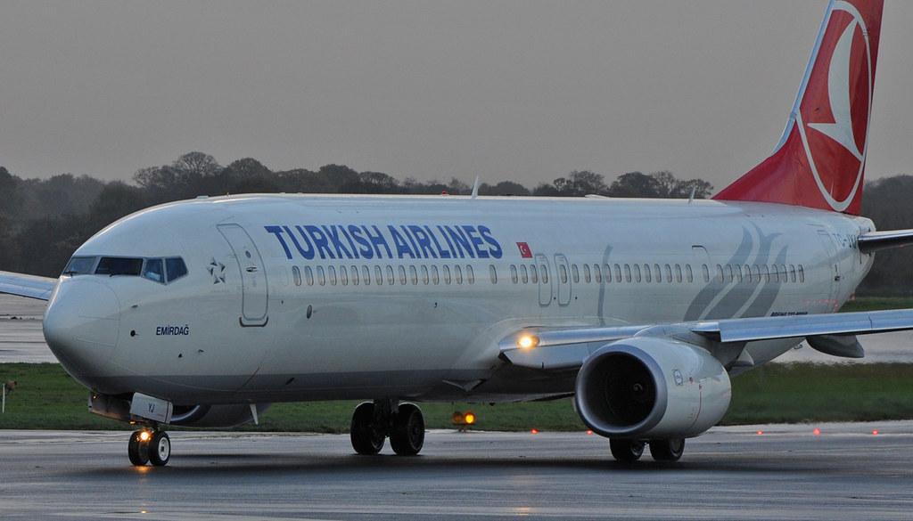 Turkish Airlines | TC-JYJ | Boeing 737 | IST-MAN | One of ... - photo#35