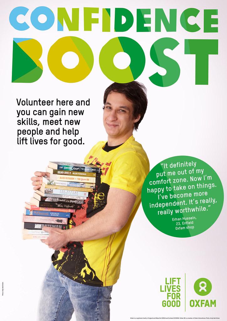 Oxfam Volunteer Posters A New Volunteer Recruitment