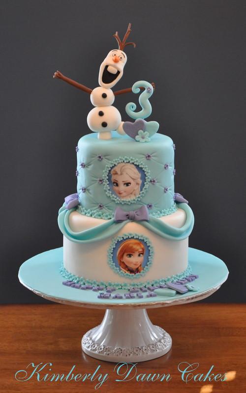 Disney Frozen Cake Kimberly Dawn Cakes Flickr