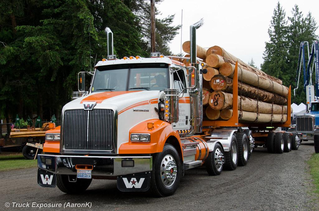 Brett Engholm Trucking Western Star 4800 SB | 2014 Deming Lo ...