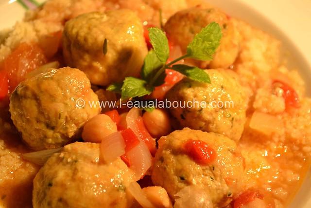 Keftas de Dinde Courgettes  © Ana Luthi Tous droits réservés 12