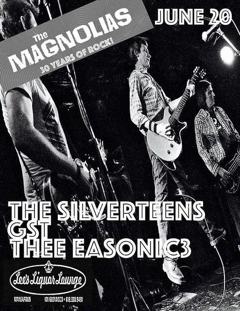 06/20/15 The Maginolias/ Silverteens/ GST/ Thee Easonic3 @ Lee's Liquor Lounge, Minneapolis, MN