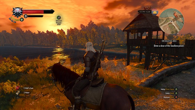 Witcher III - Sunset
