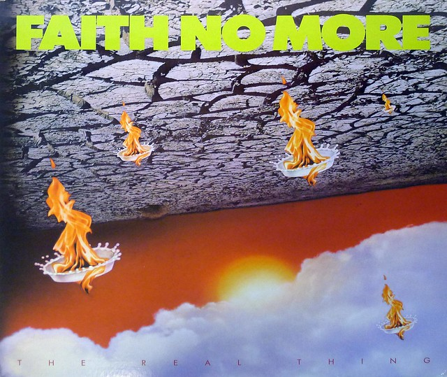 """FAITH NO MORE THE REAL THING 12"""" LP VINYL"""