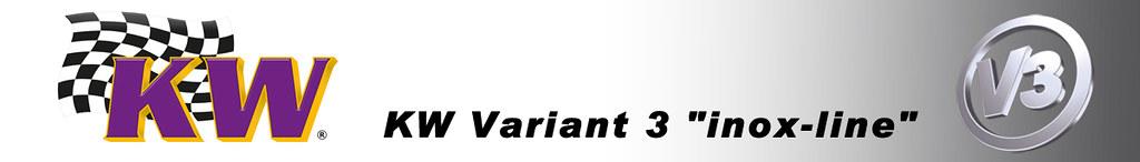KW V3避震器 Variant 3 inox-line BMW 5-series F10