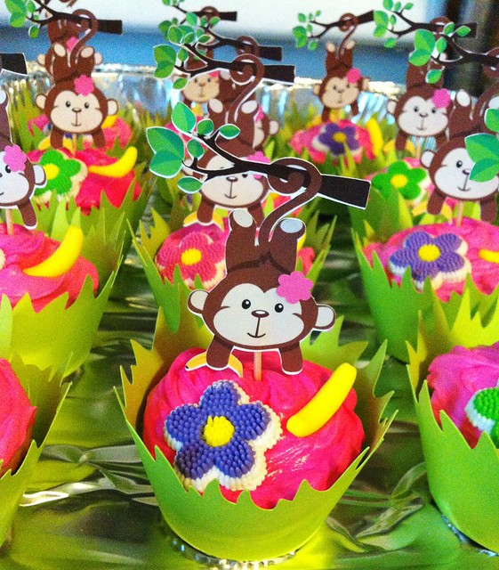 Monkey love cupcakes - photo#11