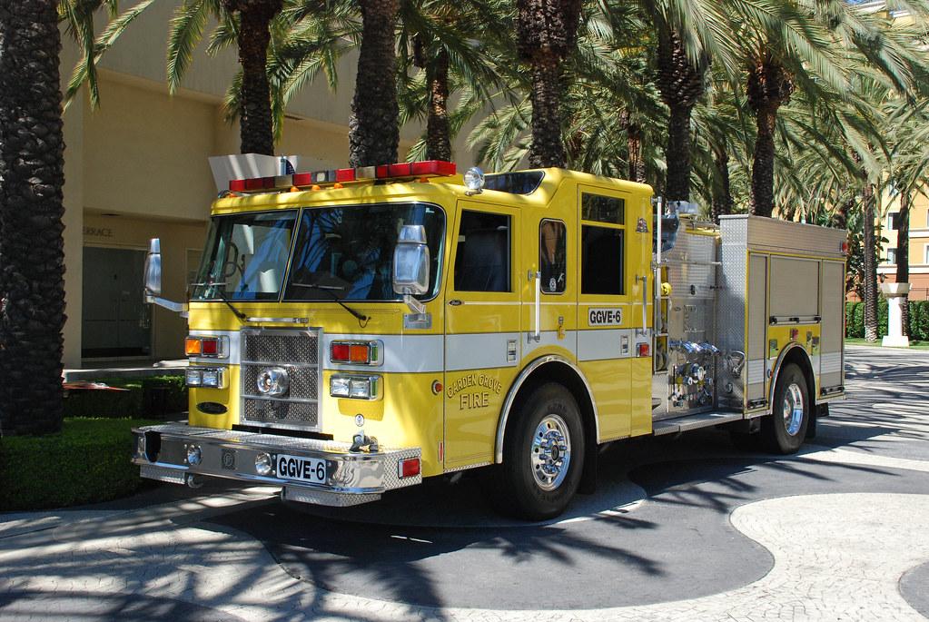 Garden Grove Fire Dept Pierce Dash Pumper In Garden Grove Flickr