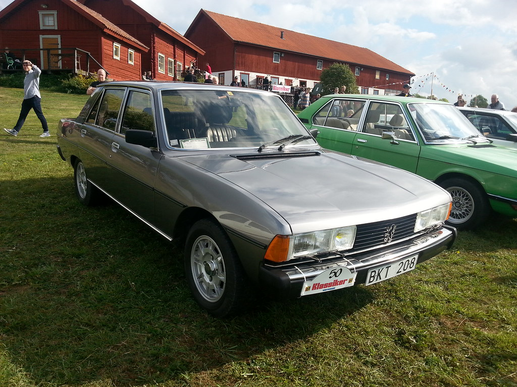 peugeot 604 gti 1985 one of my favourite cars at the show flickr. Black Bedroom Furniture Sets. Home Design Ideas