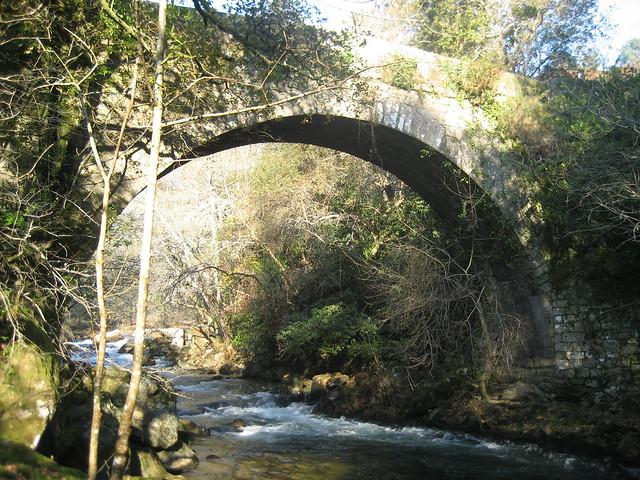 Puente Romano en Segade en Caldas de Reis
