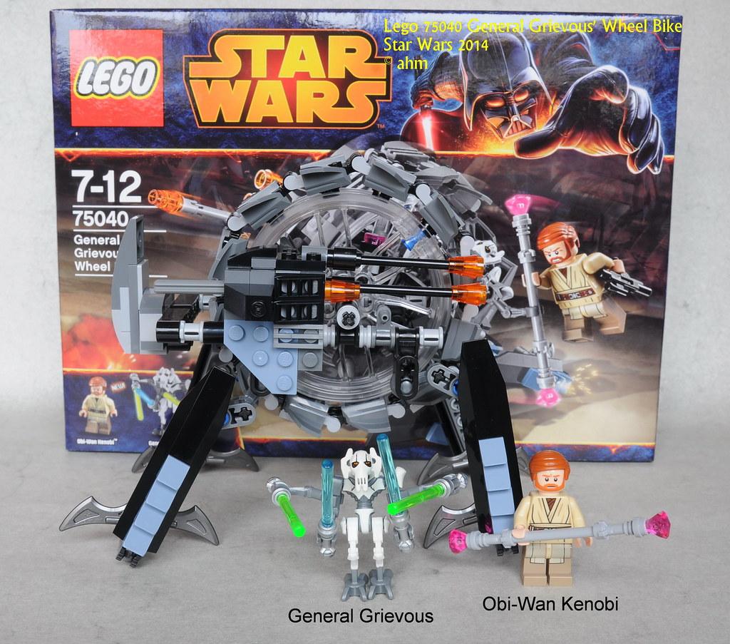 Star Wars Lego 75040 General Grievous Wheel Bike  Star War  Flickr