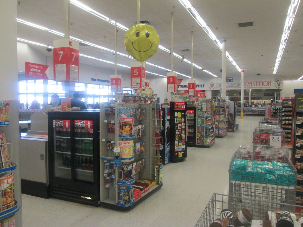 Victor Kmart Interior 30 | Checkout lanes ...