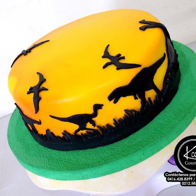 Torta Art 237 Stica Dinosaurios Para Javier En Su 6to Cumplea