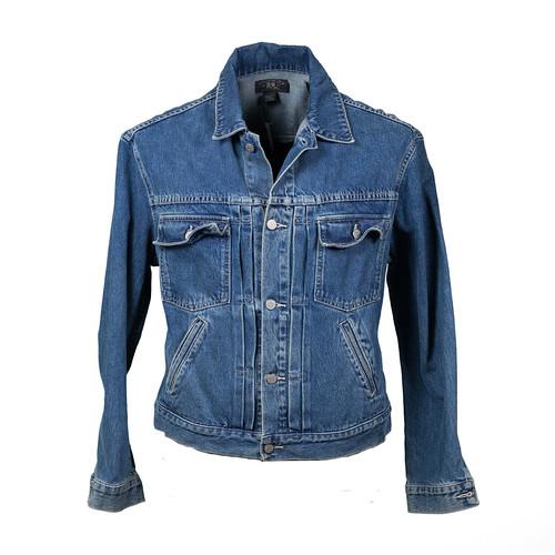 Double RL Denim | RRL jean jacket photo by Menswear Market ... Denim Jacket Photography